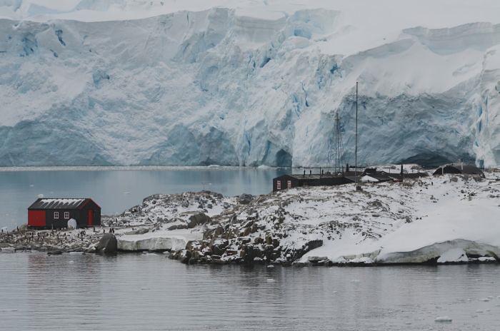 Photo blog port lockroy antarctica book covers for Port lockroy